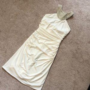 JS Boutique Ivory Dress